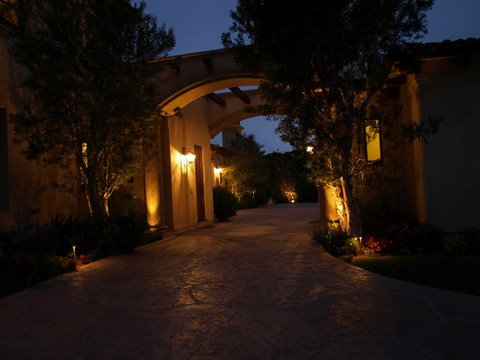 Landscape Lighting Newbury Park Modern Landscape  Lighting