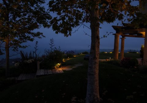 Landscape Lighting Newbury Park Pathways